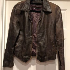 Vintage 1980's Kelli Kouri leather jacket